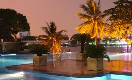 Refurbishment of swimming pool, Trans Asia Hotel – Colombo